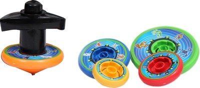 Shape n Style 5 in 1 Spinning Top(Multicolor)