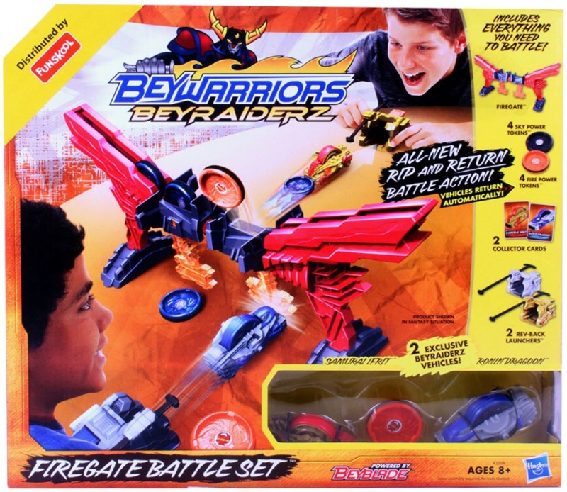Beyblade Raiderz Shogun Fire Gate Battle Set(Multicolor)
