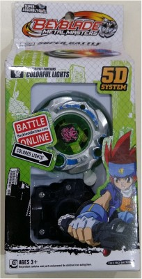 Beyblade 5d System Metal Masters Fury With Colorful Lights. Battle Online