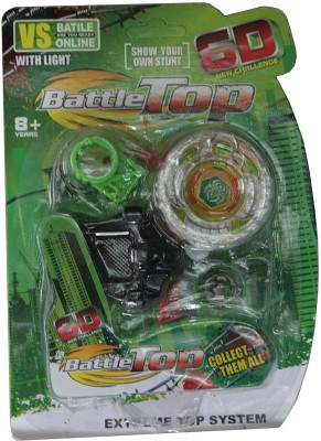Adraxx 6D New Challenge Green Battle Metal Top Beyblade