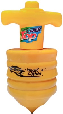 Flipzon Laser Spinning Top With Music And Lightning(Multicolor)