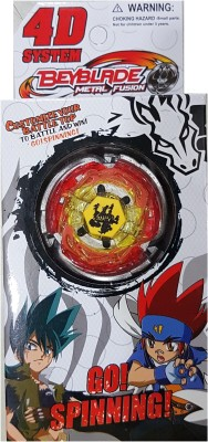 AS Beyblade Metal Masters Fury 4D System(Multicolor)