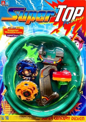 AsRetails 5D System Beyblade Stadium Battle With 2 Beyblades