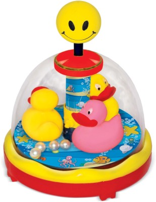 Toyzee Press N Spin Racing Ducks