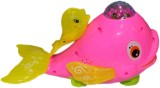 LUDUS Battery Operated Whale (Pink)