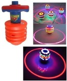 Unica Laser Spinning Top with Music and ...