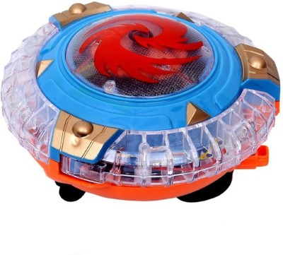 Prro Magical Spinning Top With Lights
