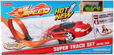 Babeezworld Speed Car Track Set