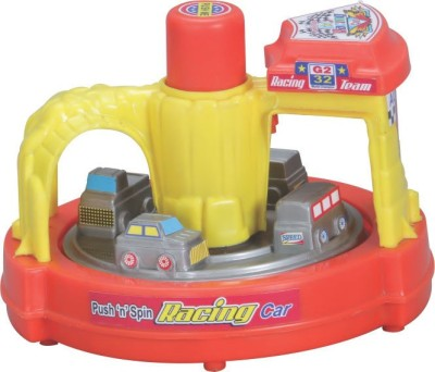 Lovely Collection Push N Spin Racing Car(Multicolor)