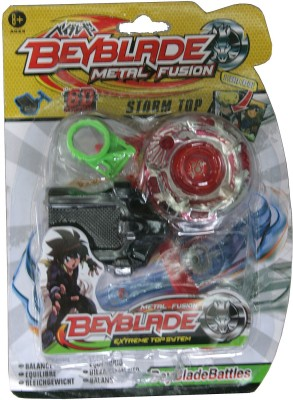 Adraxx 6D New Challenge Red Battle Metal Top Beyblade