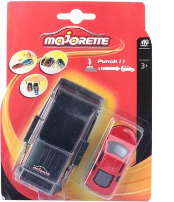 Majorette Punch & Go Launcher with Car