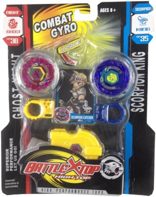 Krypton Battle X Top Combat Gyro Beyblade