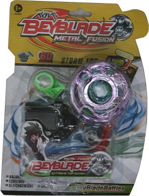 Adraxx 6D Storm Top Metal Fusion Beyblade(Multicolor)