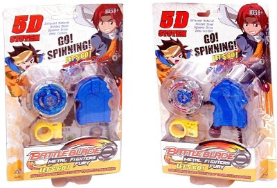 Homeshopeez Beyblade Battle Blade - Set of 2