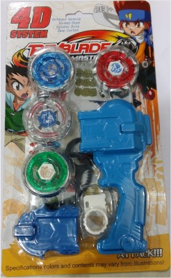 Beyblade 4d System Metal Masters Fury With Handle Launcher Ver :- II