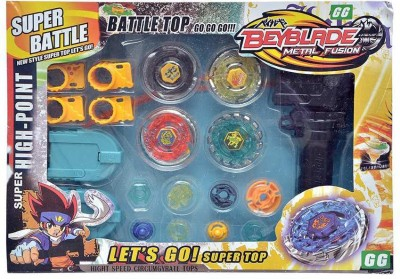 Fantasy India Multicolour Battle Top Beyblade Metal Fusion