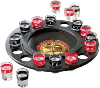 Flintstop Drinking Roulette Casino Game