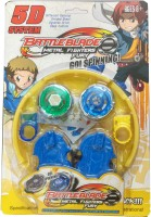 Zest4toyZ Abs Plastic Battle Blade Metal Fighter Fury Go Spinning Bayblade(Multicolor)