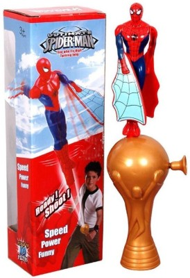 Darling Toys Flying Ultimate Spider Man Shooter Toy(Multicolor)