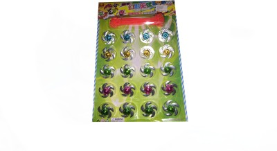 Rahul Toys spinning small beyblade in pack of 20 pcs
