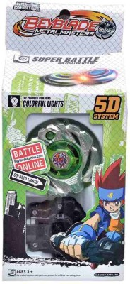 Fantasy India Metal Master Top 5D Beyblade with Light Function