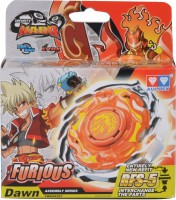Infinity Nado Furious - Attack top (without RFID- Plastic Series)(Orange)