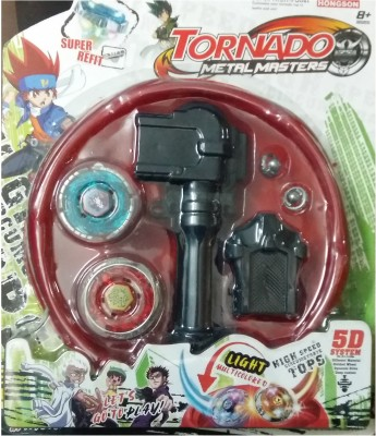 Beyblade 5D System Tornado Metal Masters with Stadium and Colorful Lights