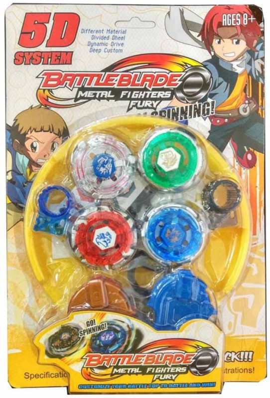 Turban Toys 5d-System-Battle-Blade-Metal-Fighter-Flurry(Multicolor)