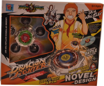 Mera Toy Shop Spinning Attack Rings-Sky Whistler