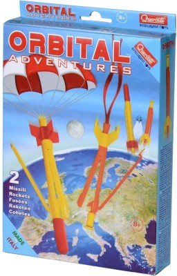 Quercetti Orbit Adventures - 2 Rockets Set