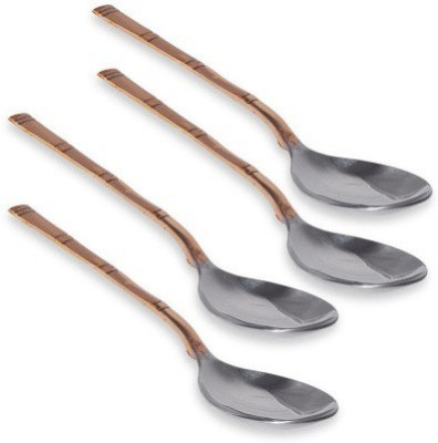 hand-e-Crafts Stainless Steel, Copper Serving Spoon Set