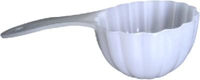Divine Temples Prasad Distribution (14 cms) Plastic Serving Spoon