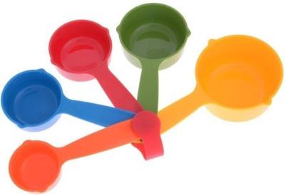Valamji 5 Disposable Plastic Measuring Spoon Set Disposable Plastic Measuring Spoon Set(Pack of 5)