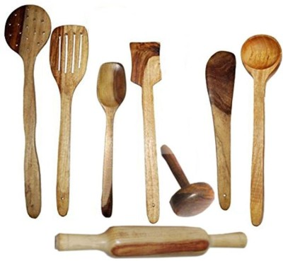 Craftatoz Wooden Serving Spoon Set