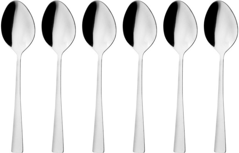 Mosaic Stainless Steel Baby Spoon Set(Pack of 6)