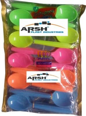 arsh plast ind Disposable Plastic Table Spoon Set
