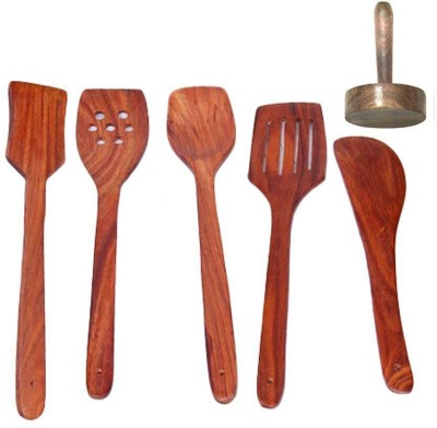 Craftatoz Wooden Cooking Spoon Set