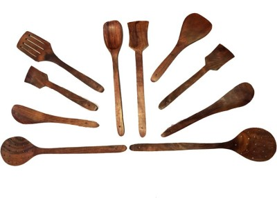 Craftatoz Wooden Wooden Spoon Set