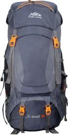 Mount Track X-Trail Hiking Rucksack - 90 L(Grey)
