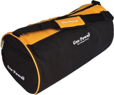 Gee Power Black Yellow Duffel Gym Bag