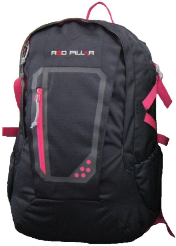 Red Pillar Yamuna 25 Adventure(Black, Pink, Rucksack)