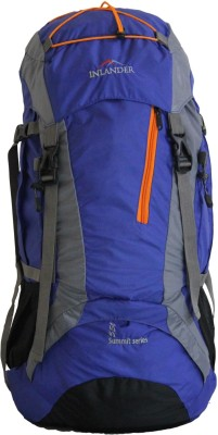 Inlander Decamp Rucksack - 55 L(Blue, Grey)
