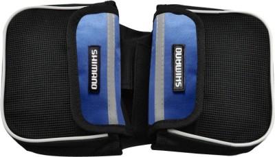 Shimano B-BCB5 Bicycle Saddle Bag(Black, Blue, Saddle Bag)