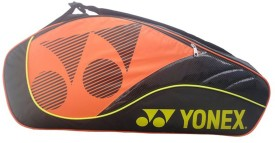 Yonex SUNR 8428TG Kit Bag(Black, Orange, Kit Bag)