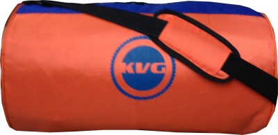 KVG MORANGE Sling Bag(Orange, Blue, Sling Bag)