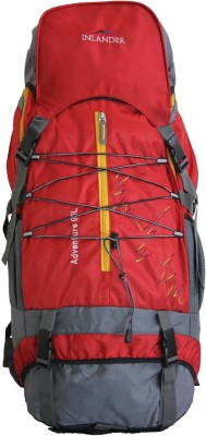 Inlander Decamp 1006 Rucksack  - 60 L(Red, Grey)