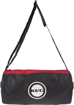 KVG DRUM BAG Gym Bag(Black, Saddle Bag)