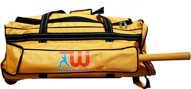 THREE WICKETS YELLOW Duffle(Yellow, Wheeler)