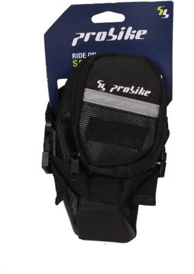 Probike TB-840L Bicycle Saddle Bag(Black, Saddle Bag)