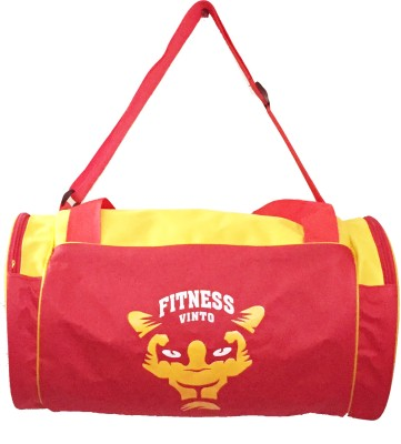 Vinto FITNESS RED YELLOW Duffel